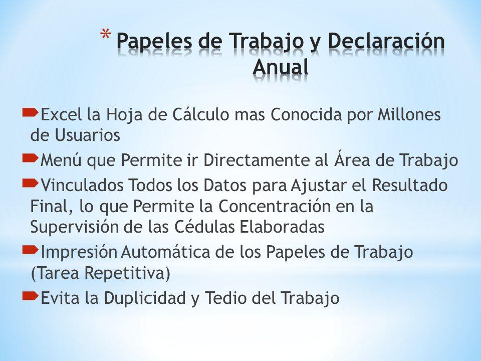 CALCULO MENSUAL DEL I.E.T.U. DETERMINA PTU BAJO 4 OPCIONES ELABORACIÓN DE LOS ANEXOS DEL SIPRED COPIADO Y PEGADO EN LOS ANEXOS DEL SAT SIPRED Y SIPIAD