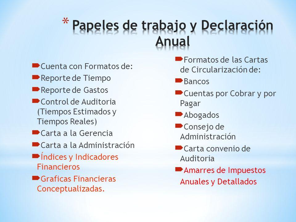 En Resumen el AUDI 2014 Permite la Supervisión de los Papeles de Trabajo de Auditoria y Contabilidad de una Manera más Intensa, Logrando un Alto Grado