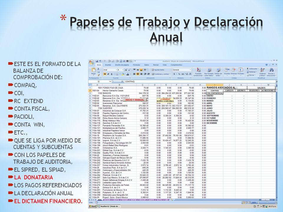 El Audi2014 es un Sistema Moderno de Macros en Excel para la Realización de las Auditorias de la Manera Tradicional