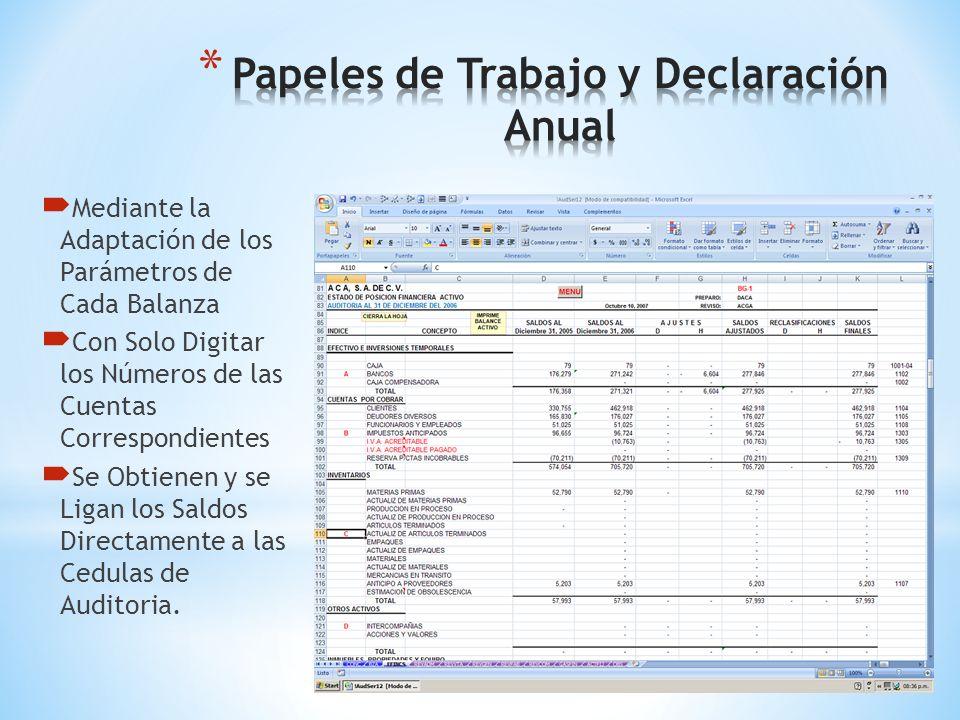 Mediante la Información Contable, con Excel 2007 Excel 2010 Excel 2013 Genere la Información Fiscal al Detalle Como todos sus Documentos de Excel. Ace