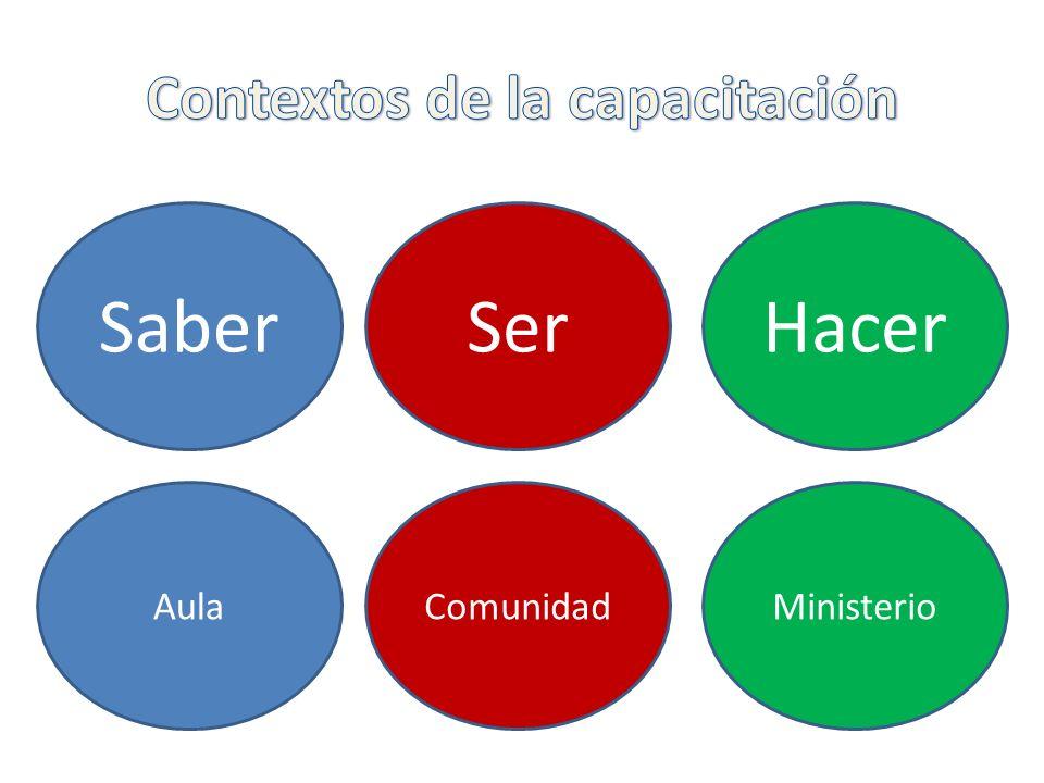 HacerSaberSer MinisterioAulaComunidad