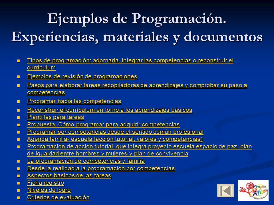 Ejemplos de Programación.