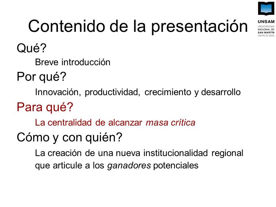 Contenido de la presentación Qué. Breve introducción Por qué.
