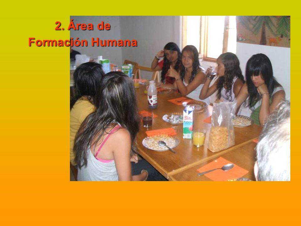 2. Área de Formación Humana