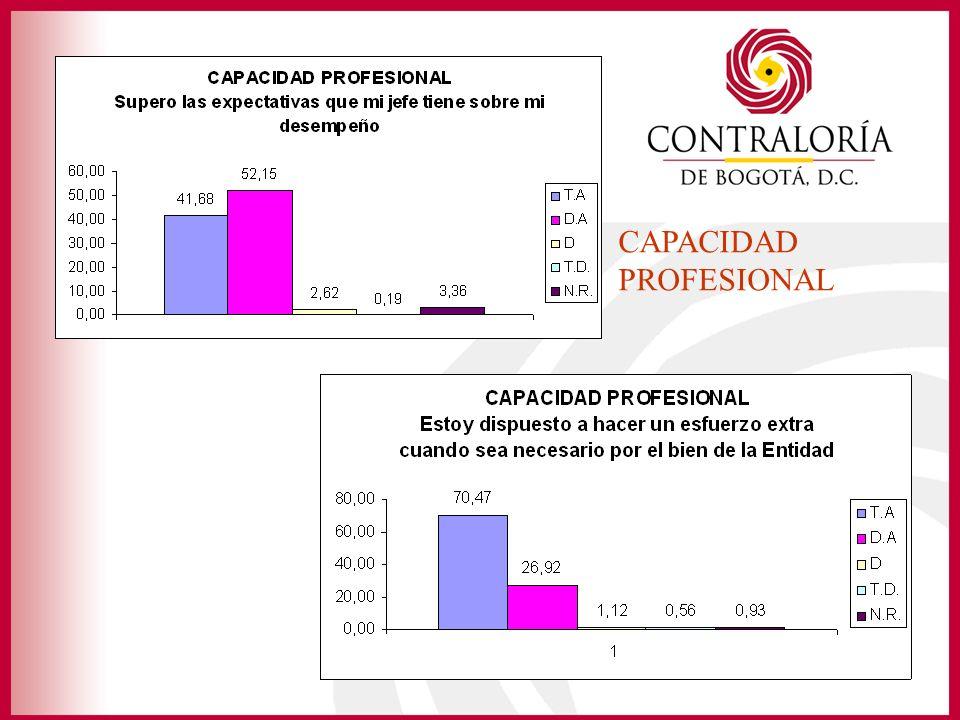 CAPACIDAD PROFESIONAL