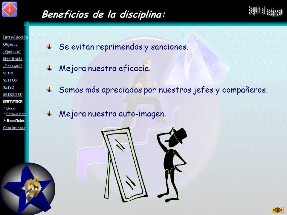 ¿y cómo se logra el hábito? Para lograr el hábito y así asegurar la práctica diaria de las 4Ss anteriores, es necesario: Disciplinarnos a nosotros mis