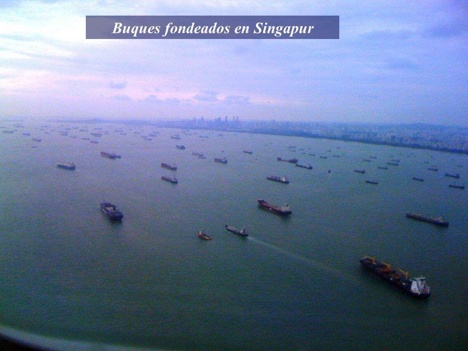 Imagen del AIS del VTS de Singapur