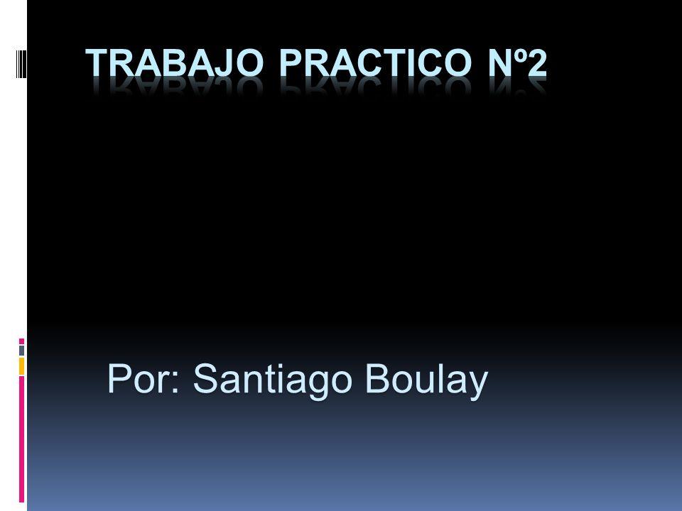 Por: Santiago Boulay