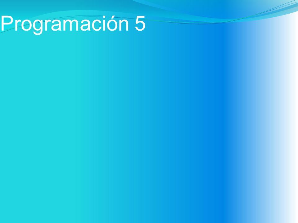 Programación 5