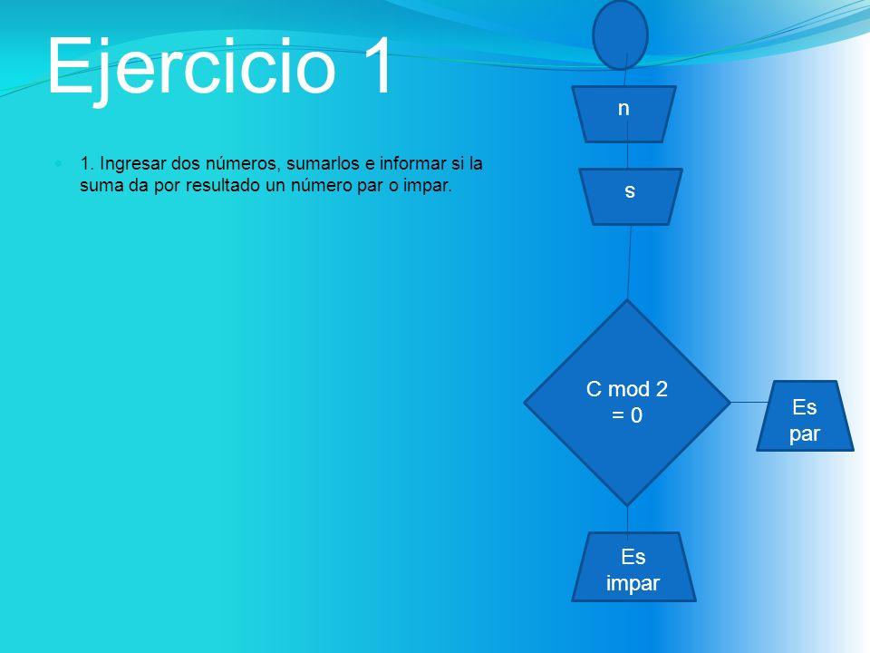 Ejercicio 1 1.