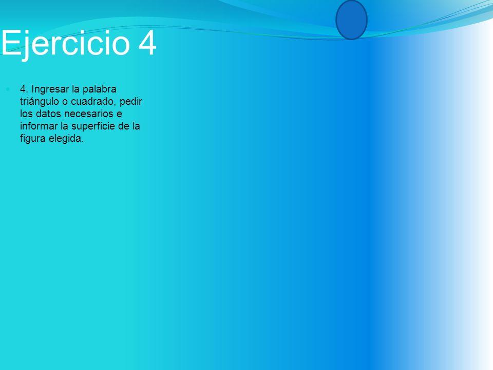 Ejercicio 4 4.