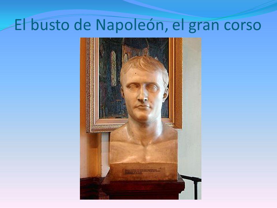 El busto de Napoleón, el gran corso