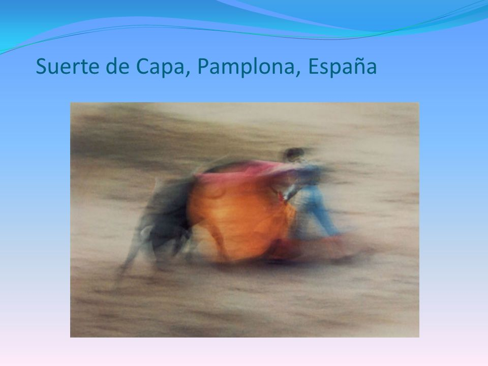 Suerte de Capa, Pamplona, España