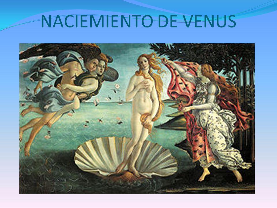 NACIEMIENTO DE VENUS