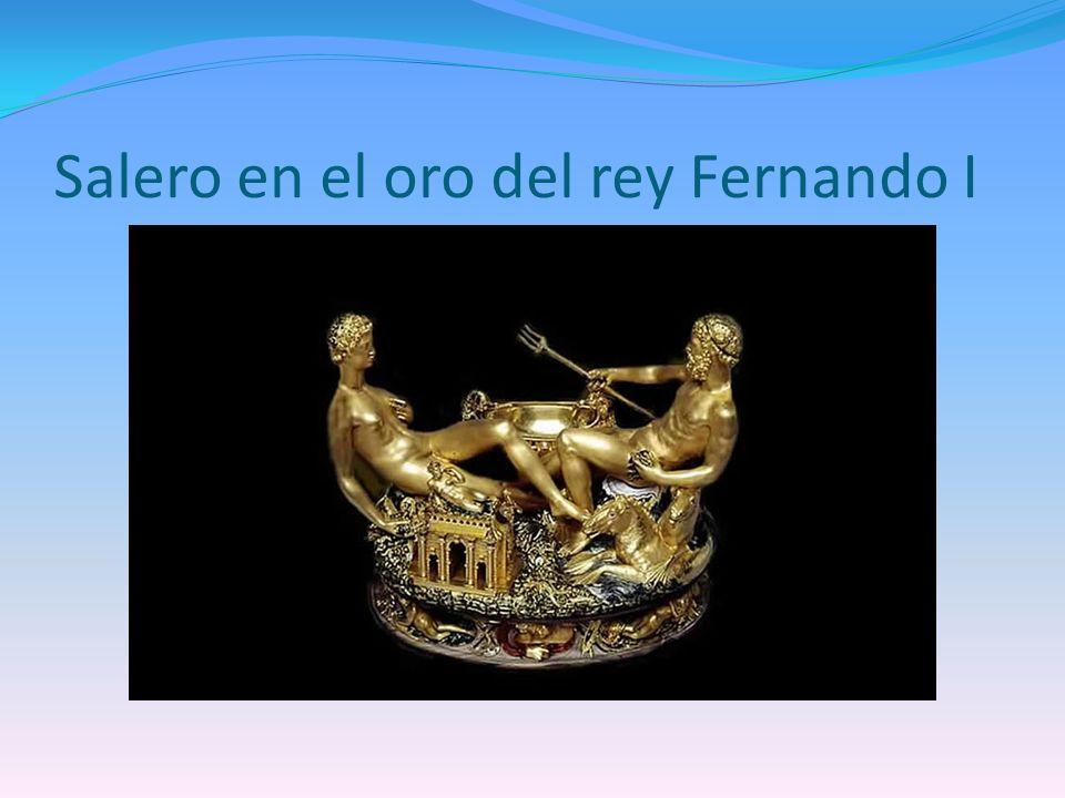 Salero en el oro del rey Fernando I