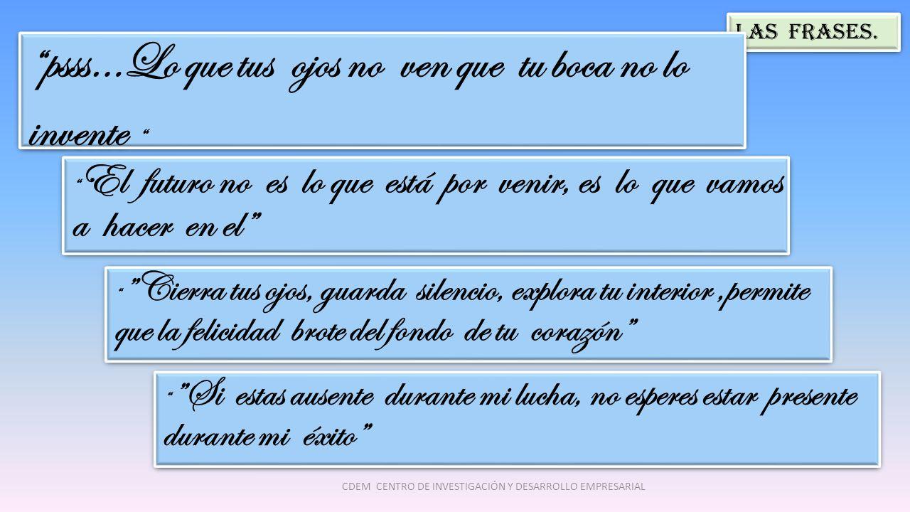 Las Frases.
