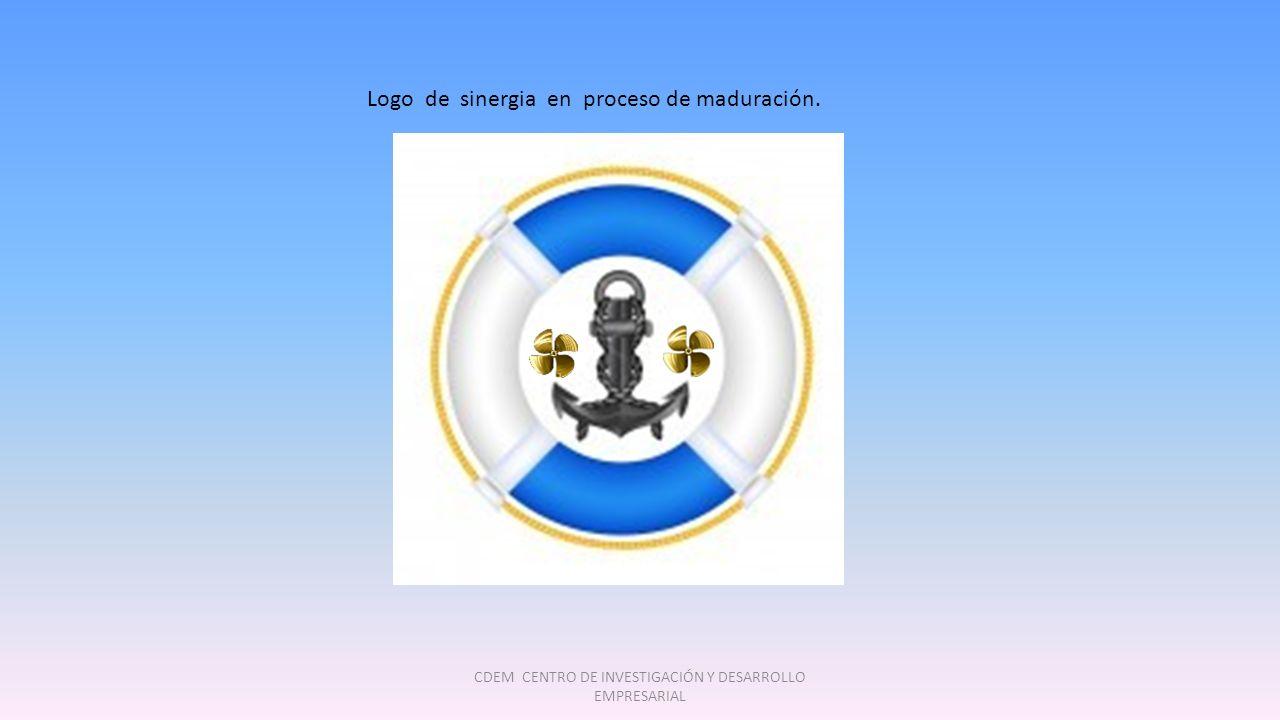 CDEM CENTRO DE INVESTIGACIÓN Y DESARROLLO EMPRESARIAL Logo de sinergia en proceso de maduración.