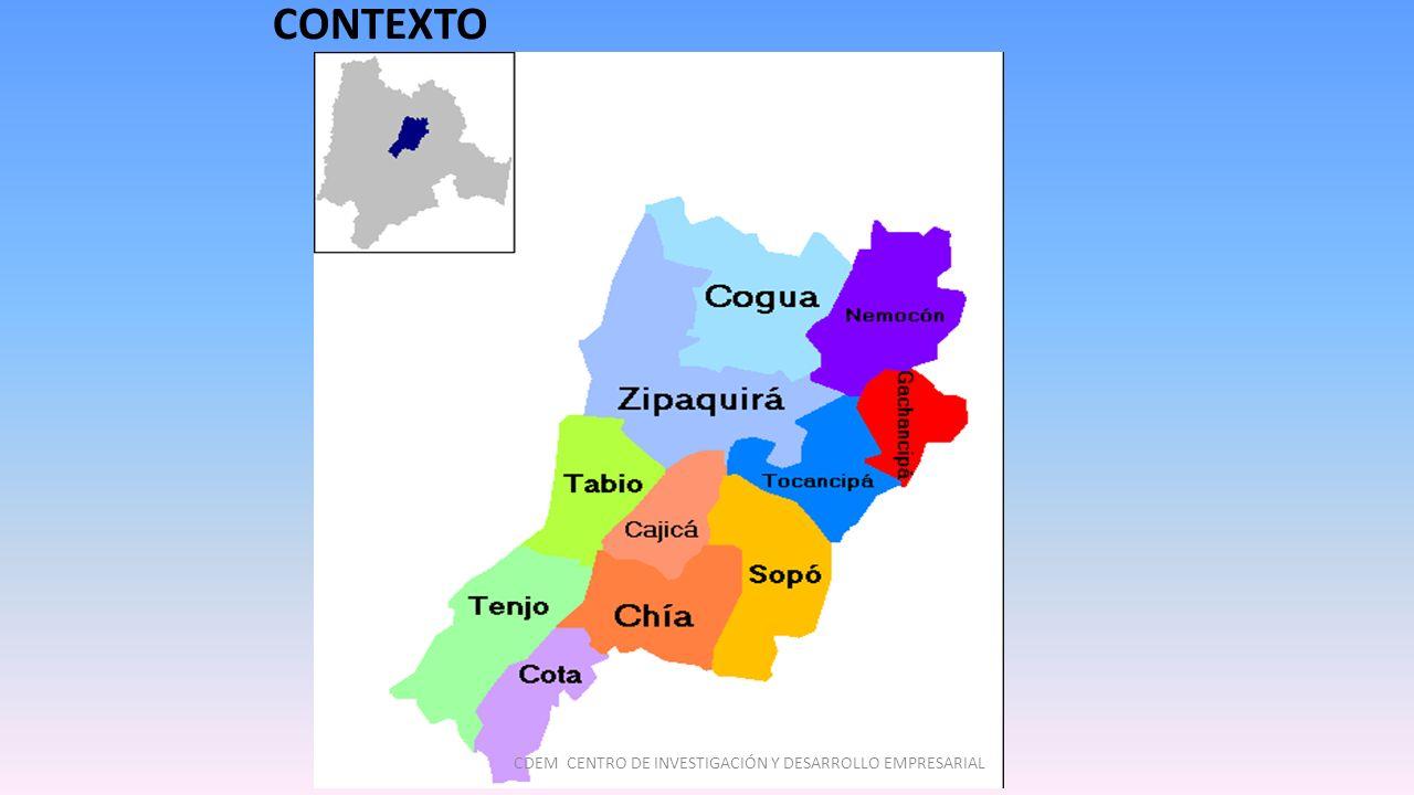 CONTEXTO CDEM CENTRO DE INVESTIGACIÓN Y DESARROLLO EMPRESARIAL