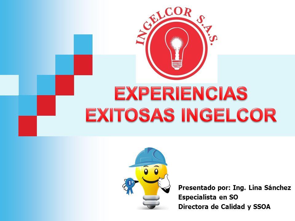 Presentado por: Ing. Lina Sánchez Especialista en SO Directora de Calidad y SSOA