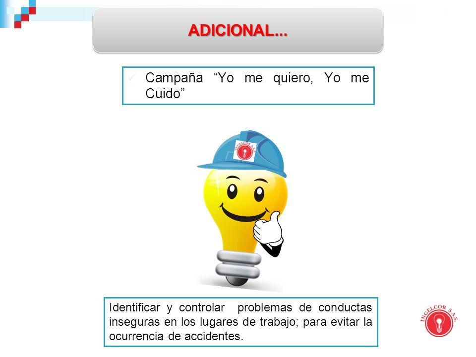 Campaña Yo me quiero, Yo me Cuido ADICIONAL...ADICIONAL...