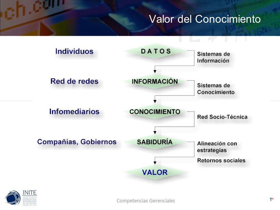 Competencias Gerenciales Valor del Conocimiento
