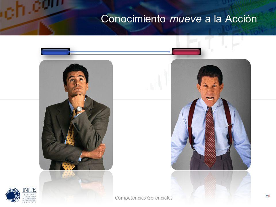 Competencias Gerenciales Ley de la Brújula La visión da confianza y dirección a los miembros del equipo.