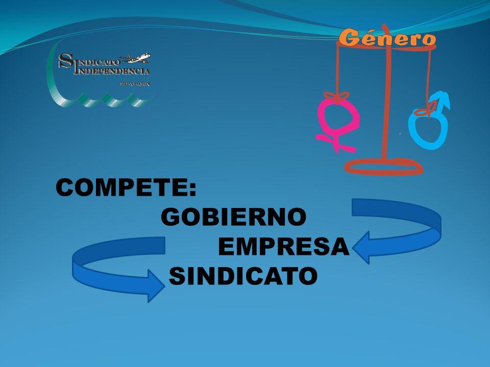COMPETE: GOBIERNO EMPRESA SINDICATO
