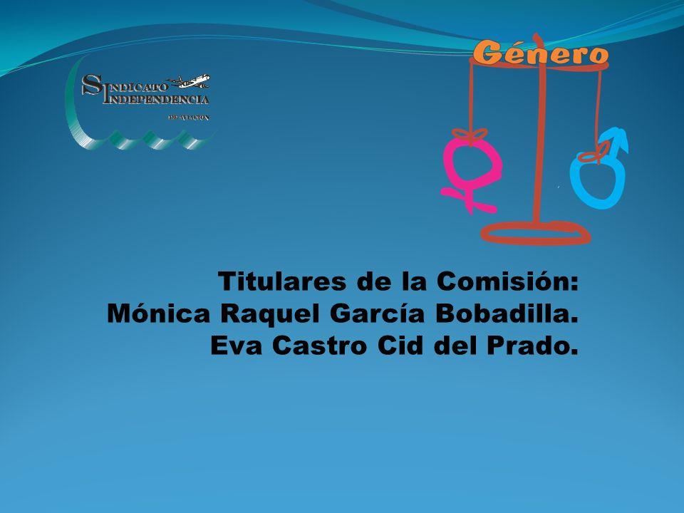 Titulares de la Comisión: Mónica Raquel García Bobadilla. Eva Castro Cid del Prado.