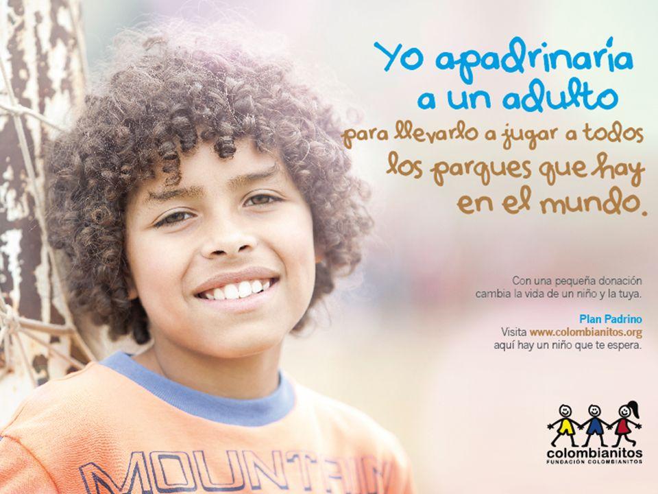www.colombianitos.org Al unirse a esta campaña ayudan a la Fundación Colombianitos a fortalecer y extender su programa Goles Para Una Vida Mejor en Bucaramanga que beneficia a 500 niños y jóvenes afectados por la extrema pobreza y la violencia.