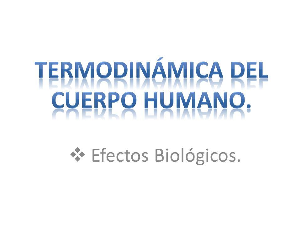 Efectos Biológicos.