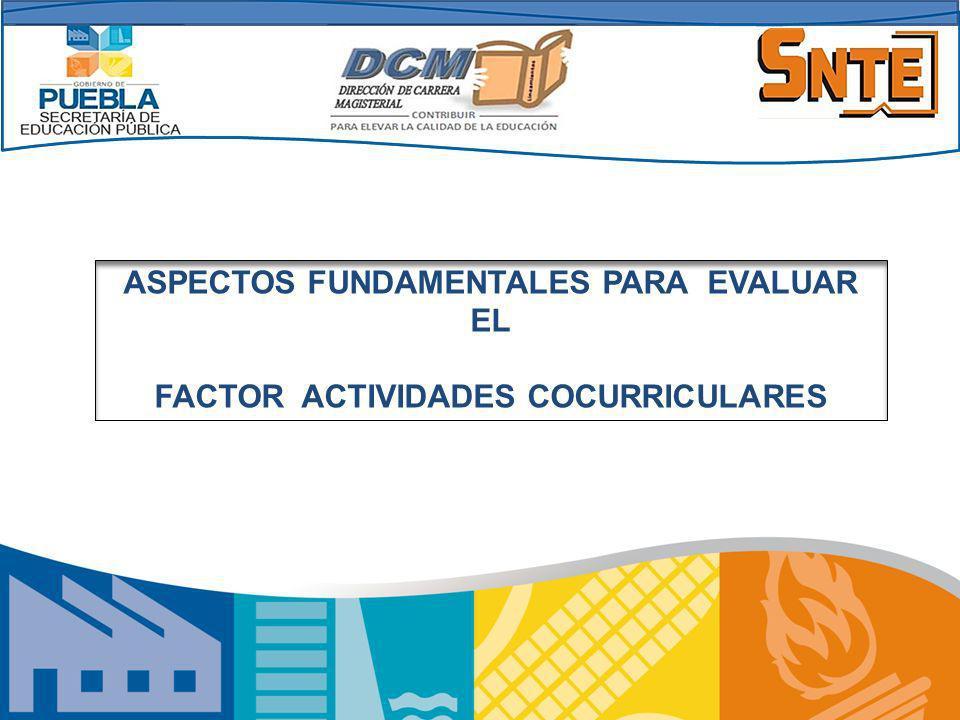 TEMAS: Introducción.Puntaje del Factor. ¿Cómo se evalúa el Factor.