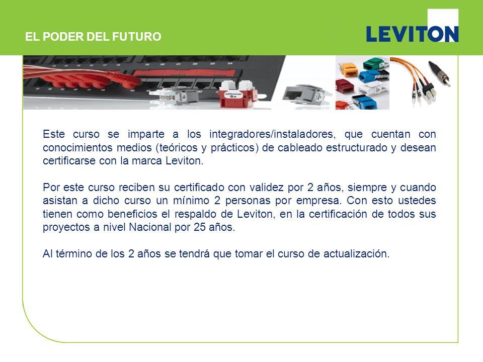 Sistema de Cableado Certificado Leviton VDD (CCS) I.- Resumen General del Programa CCS - Revisión del programa - Garantía del programa CCS - Socios de Cable Aprobados II.- Sistemas de Cobre UTP Categoría 5e, 6 y 6A.