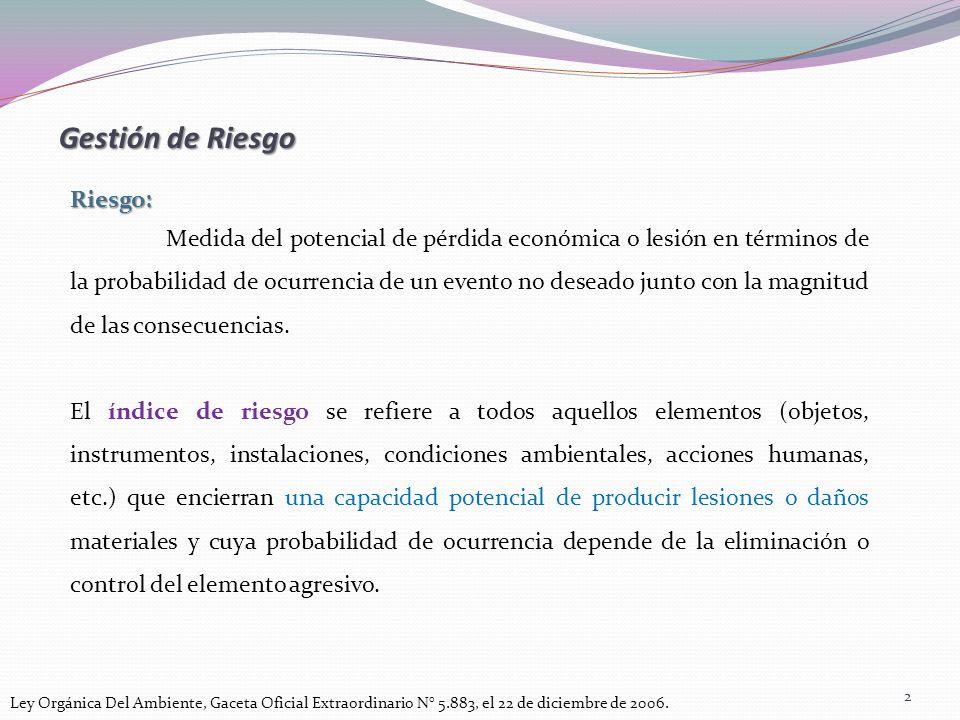 Gestión de Riesgo http://www.opas.org.br/gentequefazsaude/bvsde/bvsast/e/fulltext/riesgos/riesgos.pdf.