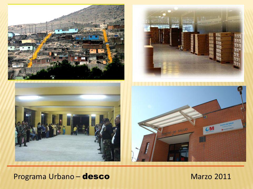 Programa Urbano – desco Marzo 2011