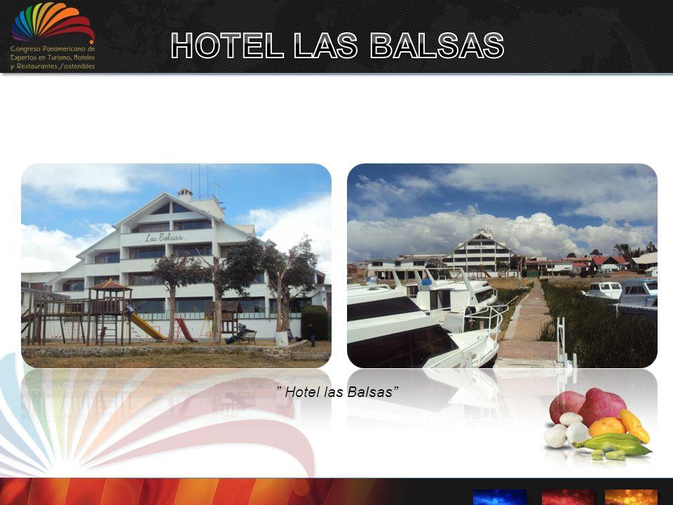 Restaurante Hotel las Balsas