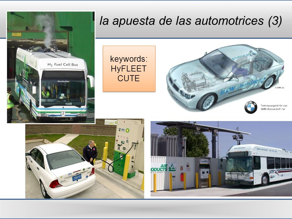 la apuesta de las automotrices (3) keywords: HyFLEET CUTE keywords: HyFLEET CUTE