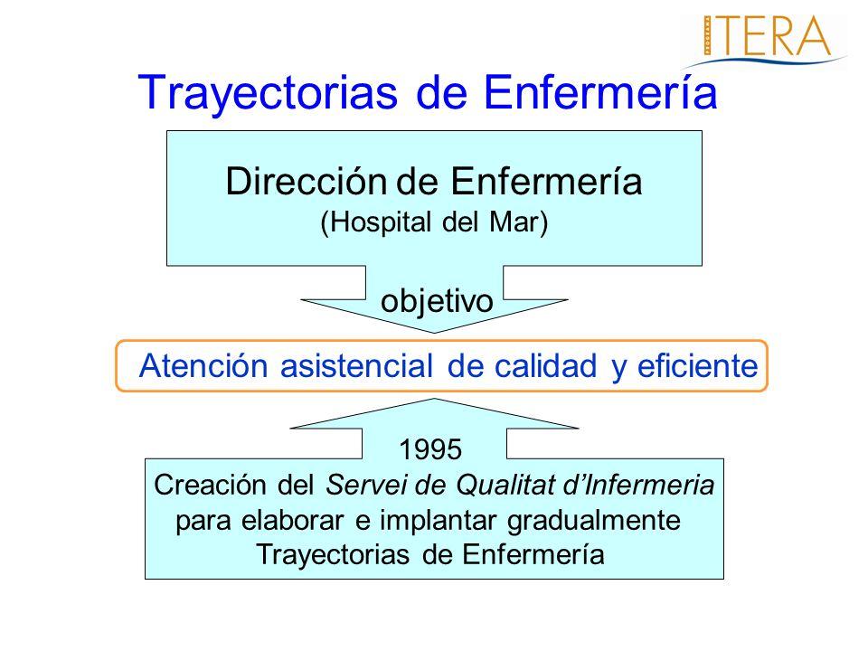 Atención asistencial de calidad y eficiente Dirección de Enfermería (Hospital del Mar) Creación del Servei de Qualitat dInfermeria para elaborar e imp
