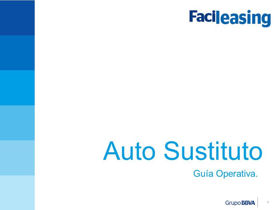 1 Auto Sustituto Guía Operativa.