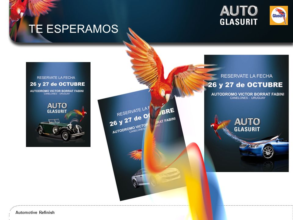 Automotive Refinish / Commercial Transport Coatings Solutions Automotive Refinish TE ESPERAMOS