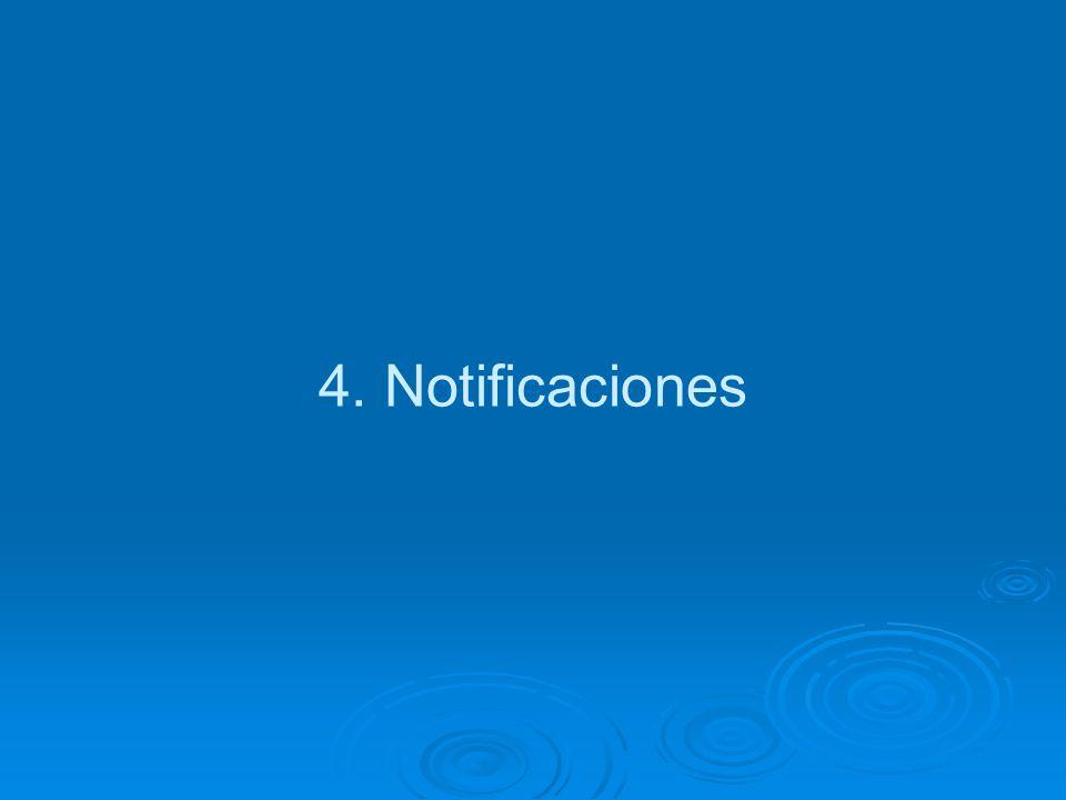 4. Notificaciones
