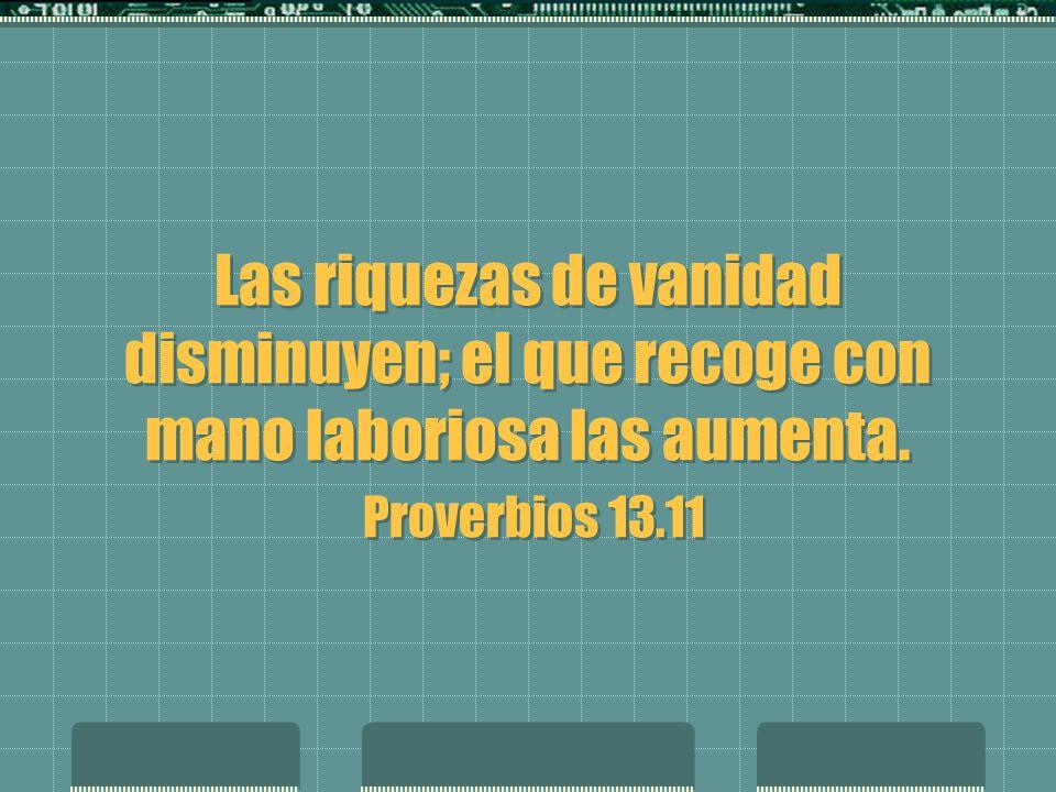 diligentes Características de los diligentes Se auto controla Siembra antes que surja la necesidad Es una persona de fe y acción Es entusiasta.