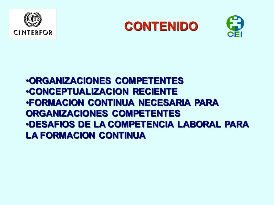 SISTEMAS EDUCATIVOS BASADOS EN COMPETENCIA COMO ESTRATEGIA PARA LA FORMACION CONTINUA DE LOS TRABAJADORES Fernando Vargas Zúñiga www.cinterfor.org.uy