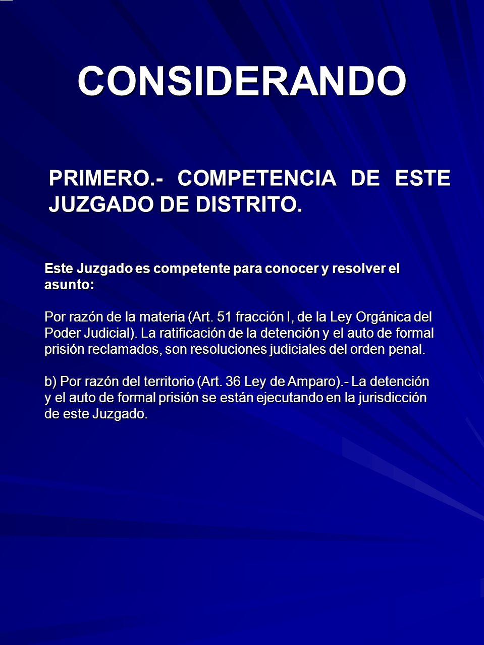 SEGUNDO.- PRECISIÓN DE LOS ACTOS RECLAMADOS Y DE LAS AUTORIDADES A QUIENES SE ATRIBUYEN.