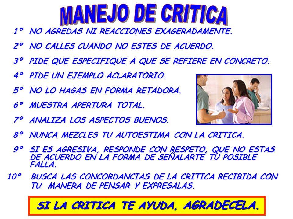 LA CRITICA FILTROS: FILTROS: 1. NECESIDADES, VALORES Y VALORES Y EXPECTATIVAS. EXPECTATIVAS. 2. IDEAS, CREENCIAS E IMAGENES. E IMAGENES. (FORMA DE VER