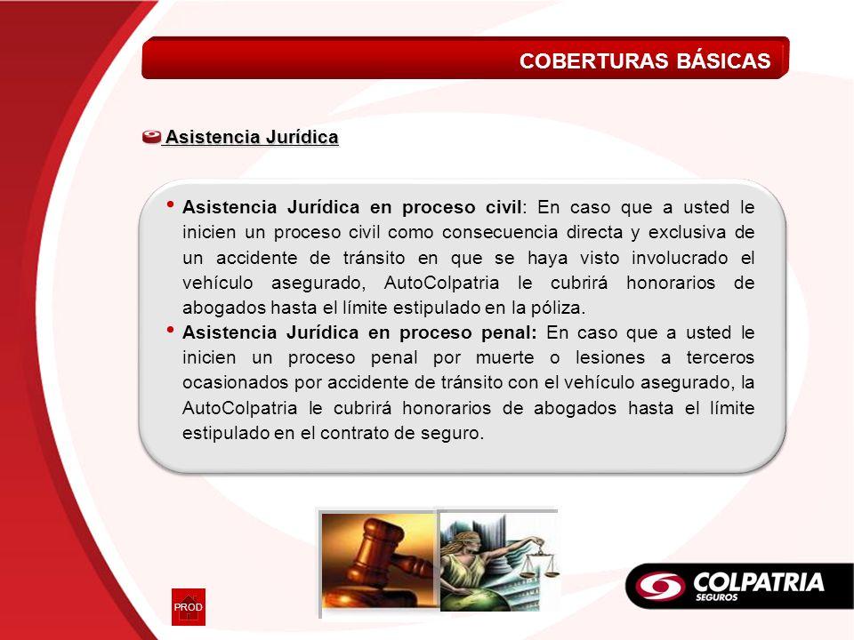 Asistencia Jurídica Asistencia Jurídica Asistencia Jurídica en proceso civil: En caso que a usted le inicien un proceso civil como consecuencia direct