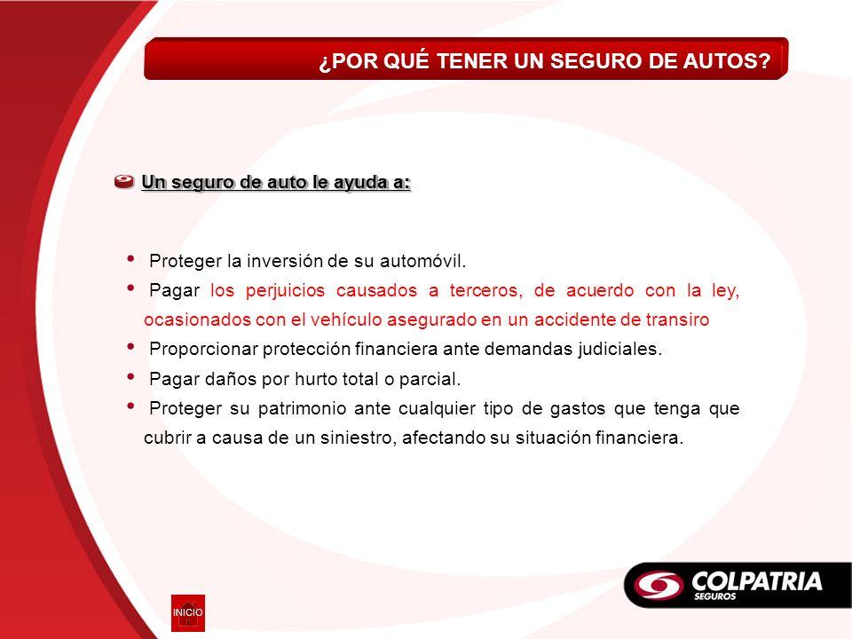 Livianos AUTOCOLPATRIA ESENCIAL VOLVER En Colombia el 60% del parque automotor no está asegurado y el principal argumento de sus propietarios para no asegurarlo es el Costo.