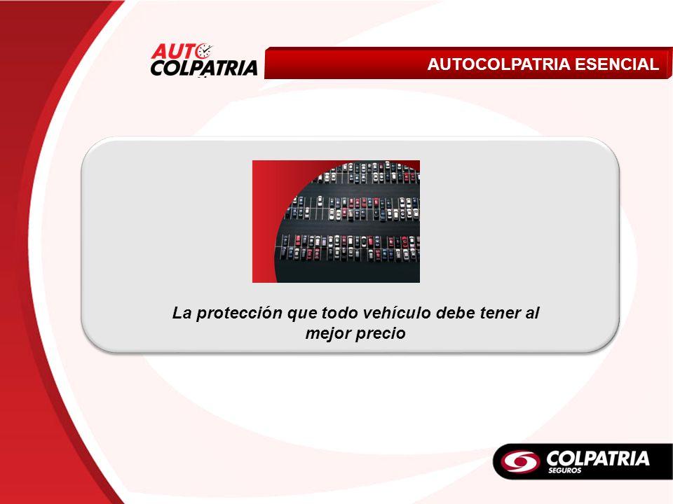 Livianos AUTOCOLPATRIA ESENCIAL La protección que todo vehículo debe tener al mejor precio