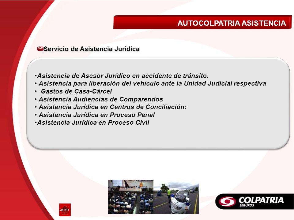 Asistencia de Asesor Jurídico en accidente de tránsito. Asistencia para liberación del vehículo ante la Unidad Judicial respectiva Gastos de Casa-Cárc