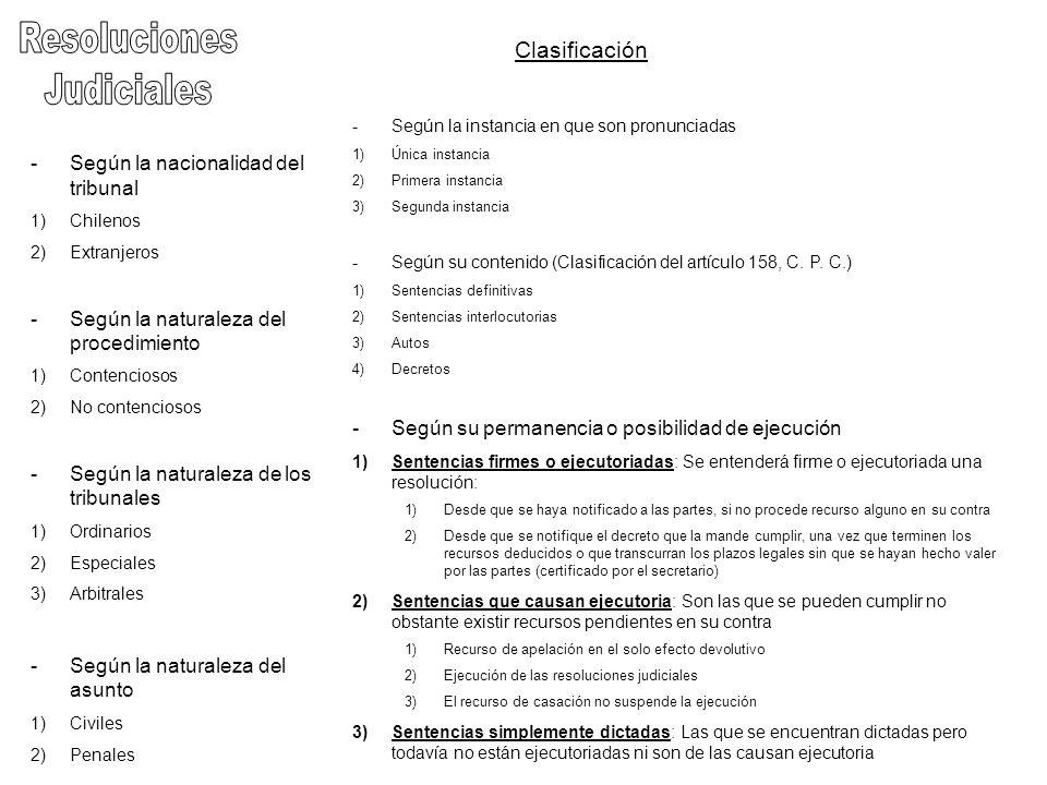Sentencias Definitivas Artículo 158, inciso 2º, C.