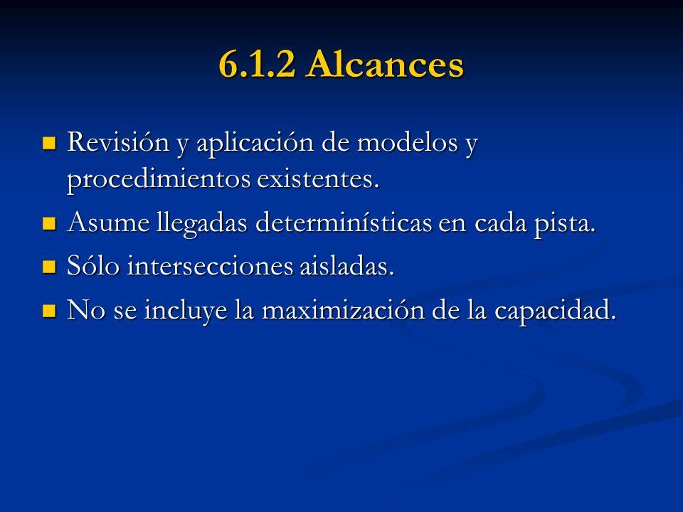 6.1.2 Alcances Revisión y aplicación de modelos y procedimientos existentes. Revisión y aplicación de modelos y procedimientos existentes. Asume llega